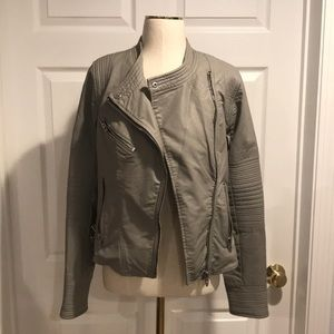 Blank NYC Steal Your Thunder Leatherette Jacket